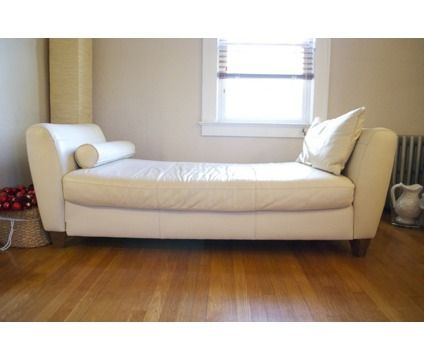 leather daybeds amalfi white leather daybed is a white sofas for sale in west orange