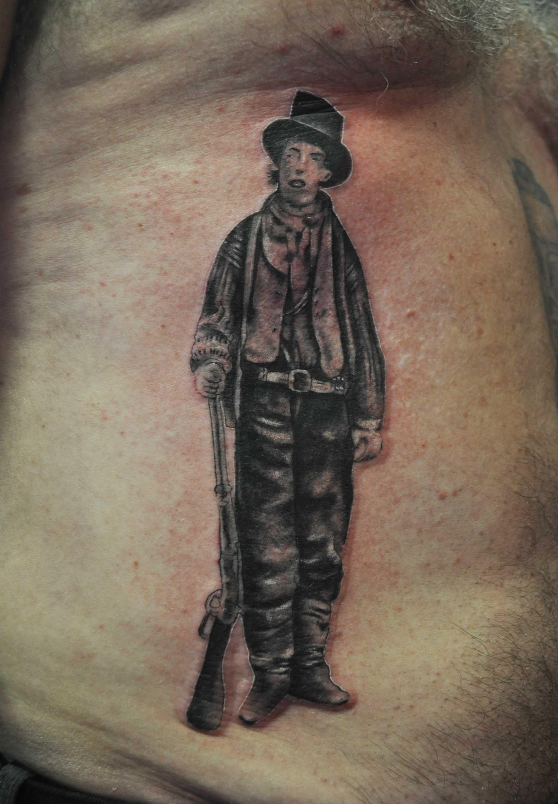 Billy The Kid Tattoo : billy, tattoo, Tattoos, Design