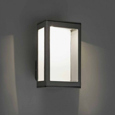 Applique ext rieure mare led gris fonc applique murale for Luminaire exterieur murale led