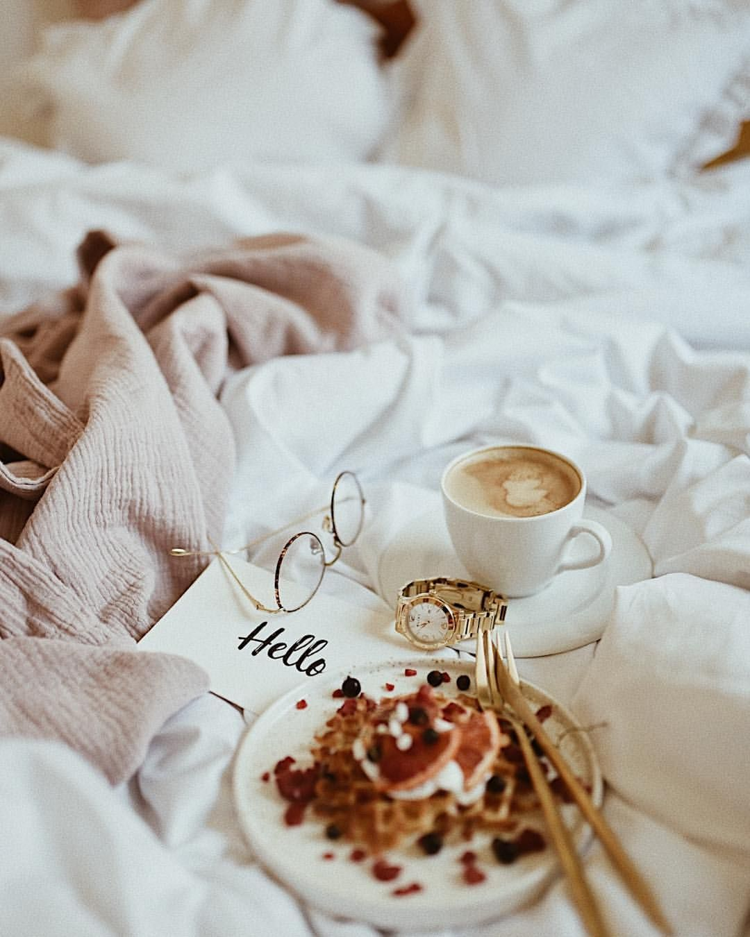 Hello Sunday śniadanie Do łóżka To Jest To Mam Nadzieję