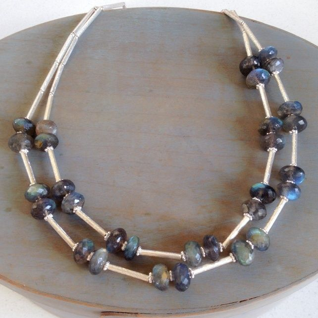 Labradorite and Sterling silver necklace £139.00