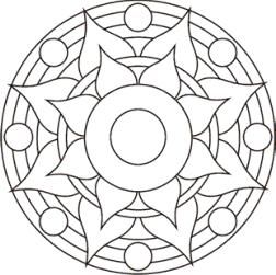 Mandala Blumen Ausmalbild Basteln Pinterest Quiltemønstre