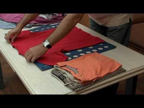 Ordenar la ropa la t cnica japonesa para doblar una camiseta y otros recursos decorar tu casa - Ordenar la casa ...