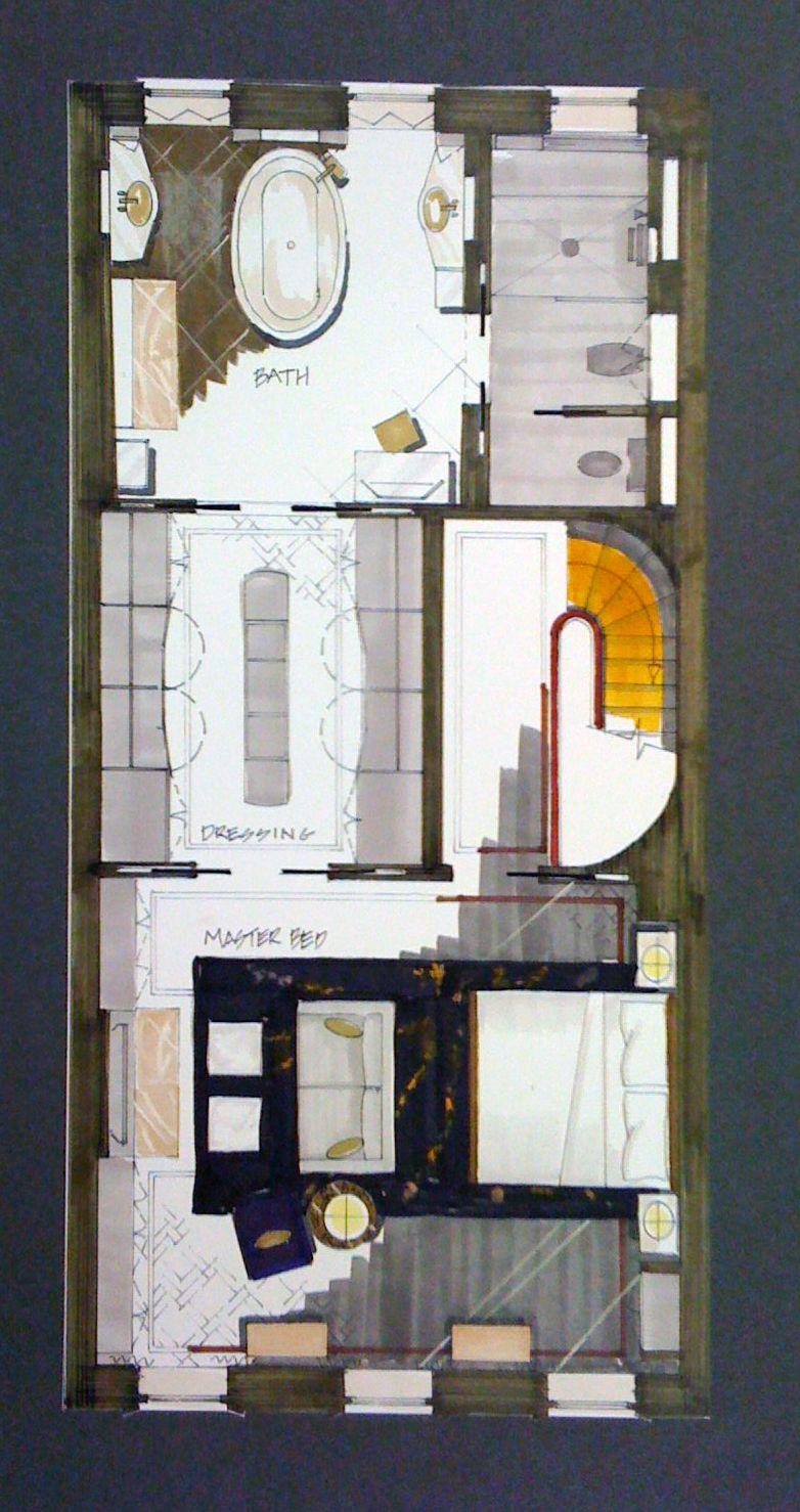 Interior Design Fashion Institute Of Technology Nyc Interior Design Institute Rendered Floor Plan Room Planning