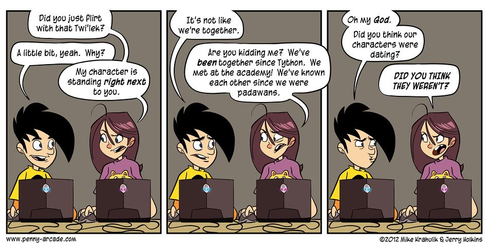 Dating tips for geeks penny arcade