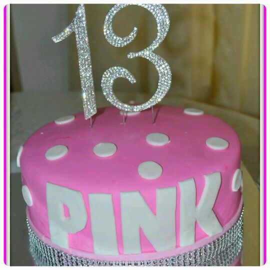 Victoria Secret 13th Birthday Cake