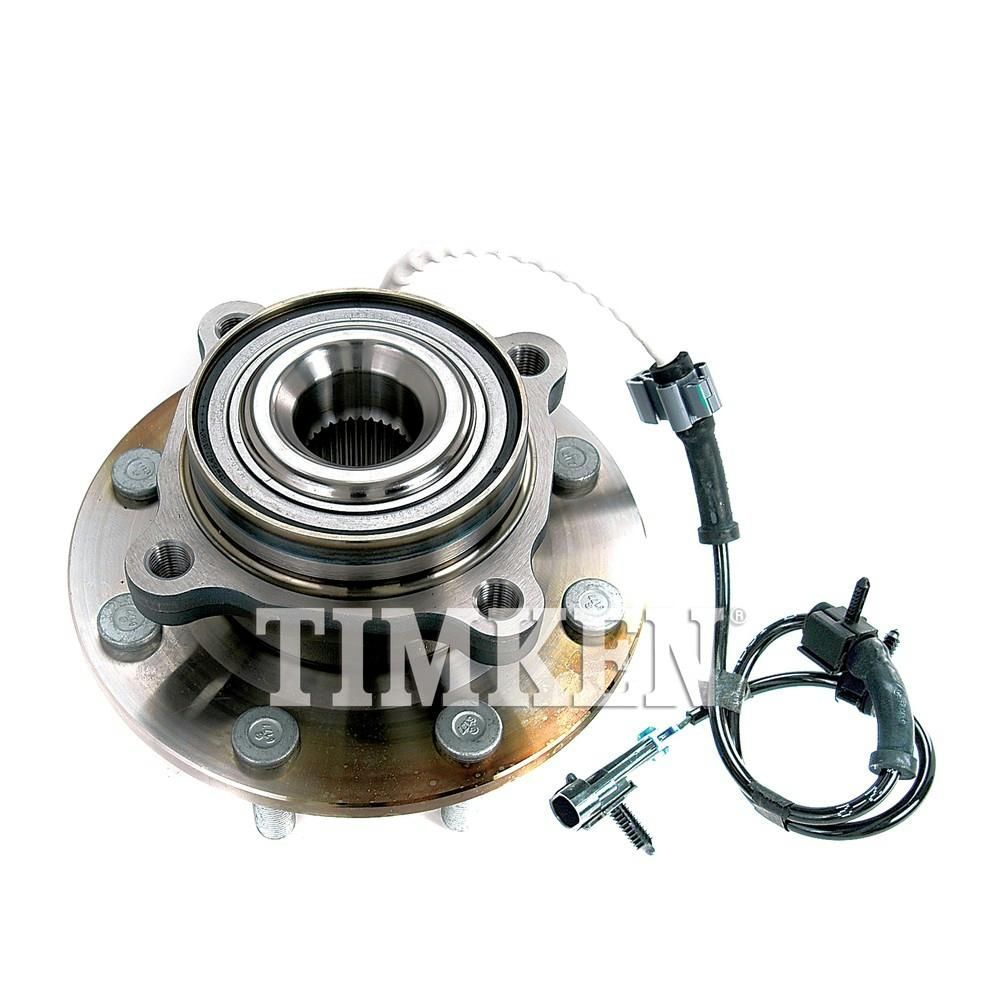 Front Wheel Bearing and Hub Assembly fits 2001 GMC Sierra 3500