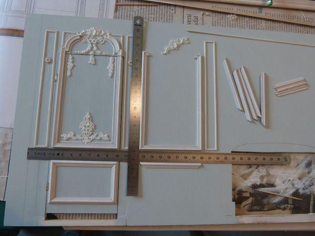 mes travaux de maquettes de maison du xviii du petit trianon ainsi que quelques recettes. Black Bedroom Furniture Sets. Home Design Ideas