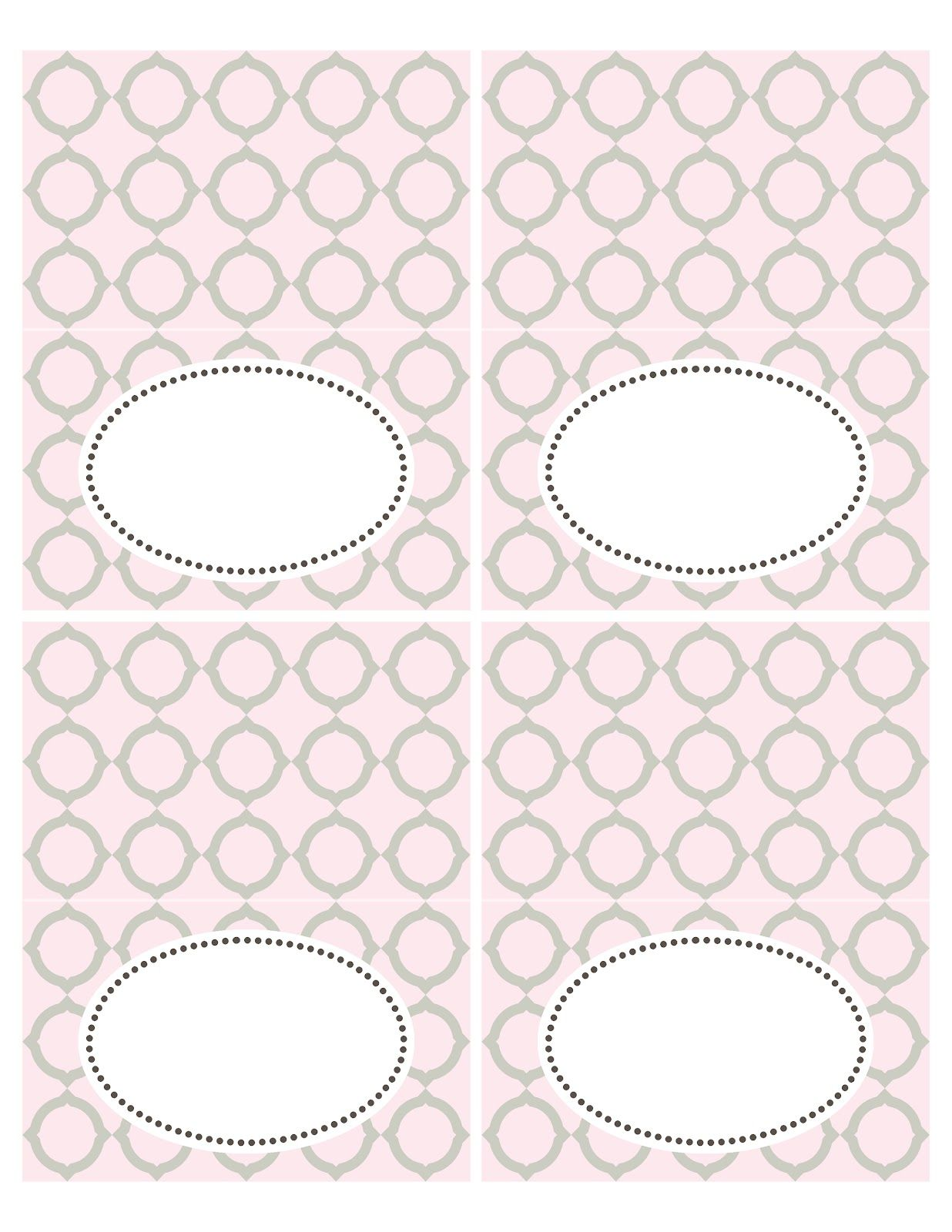 FREE printable Sweets Labels | place cards | Seriously Daisies ...