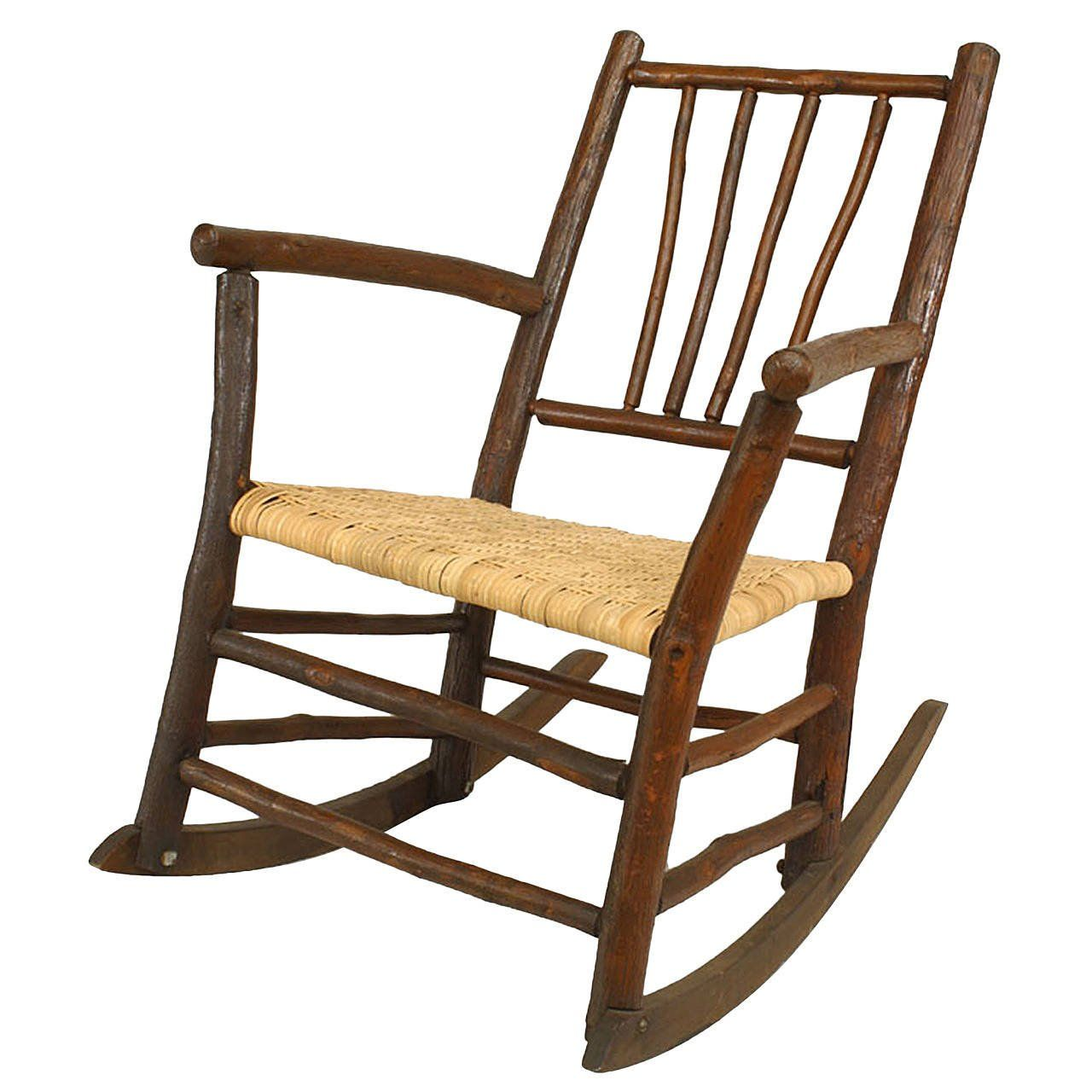 Old Hickory Furniture Company Rocking Chair Early