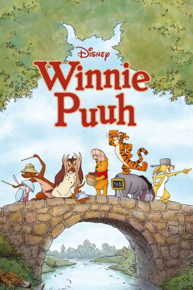 """Pôsteres diferentes. Filme """"O Ursinho Pooh""""."""