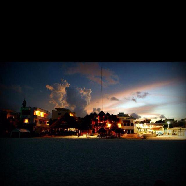 Playa at Dusk