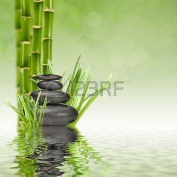 zen galet pierres de basalte zen et bambou dans l 39 eau zen pinterest arte acr licos et bamb. Black Bedroom Furniture Sets. Home Design Ideas