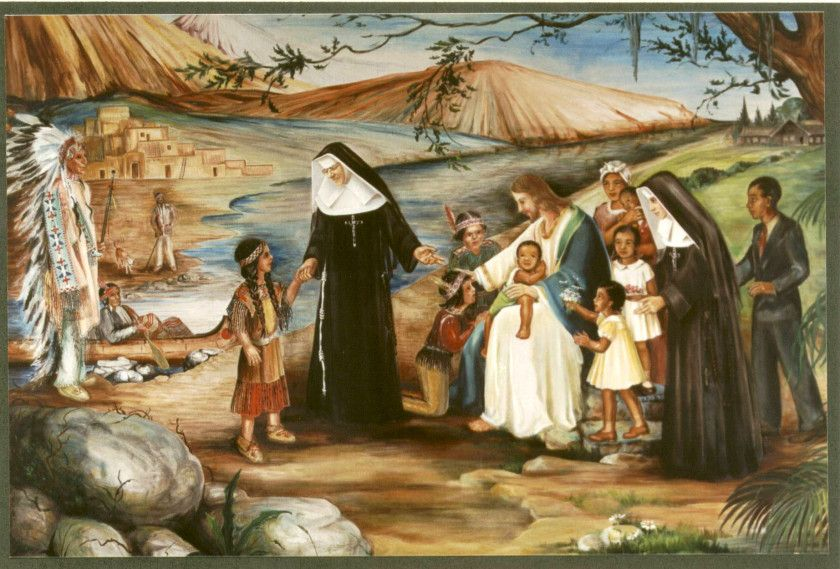 Saint of the Day – 3 March – St Katharine Drexel S.B.S (Sisters of the Blessed Sacrament) (1858-1955-AGED 96) – was an American heiress, philanthropist, religious sister, missionary, educator, and foundress. She was canonised........