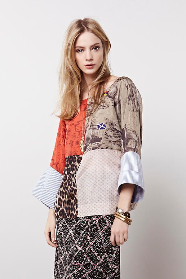 Shop the Julie Patchwork Blouse and more Anthropologie at Anthropologie today. Read customer reviews, discover product details and more.