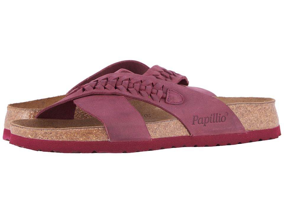 c6da735946d0 Birkenstock Daytona (Woven Wine Oiled Leather) Women s Sandals ...