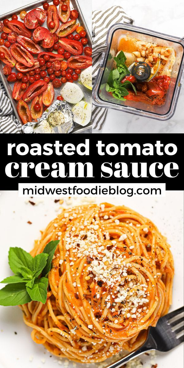 Roasted Tomato Cream Sauce