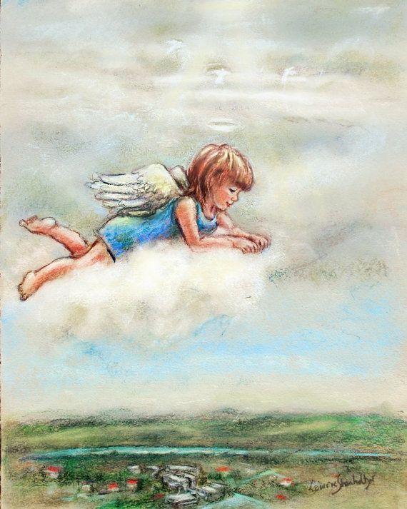 little guardian angels Bing Images Painting, Bilder
