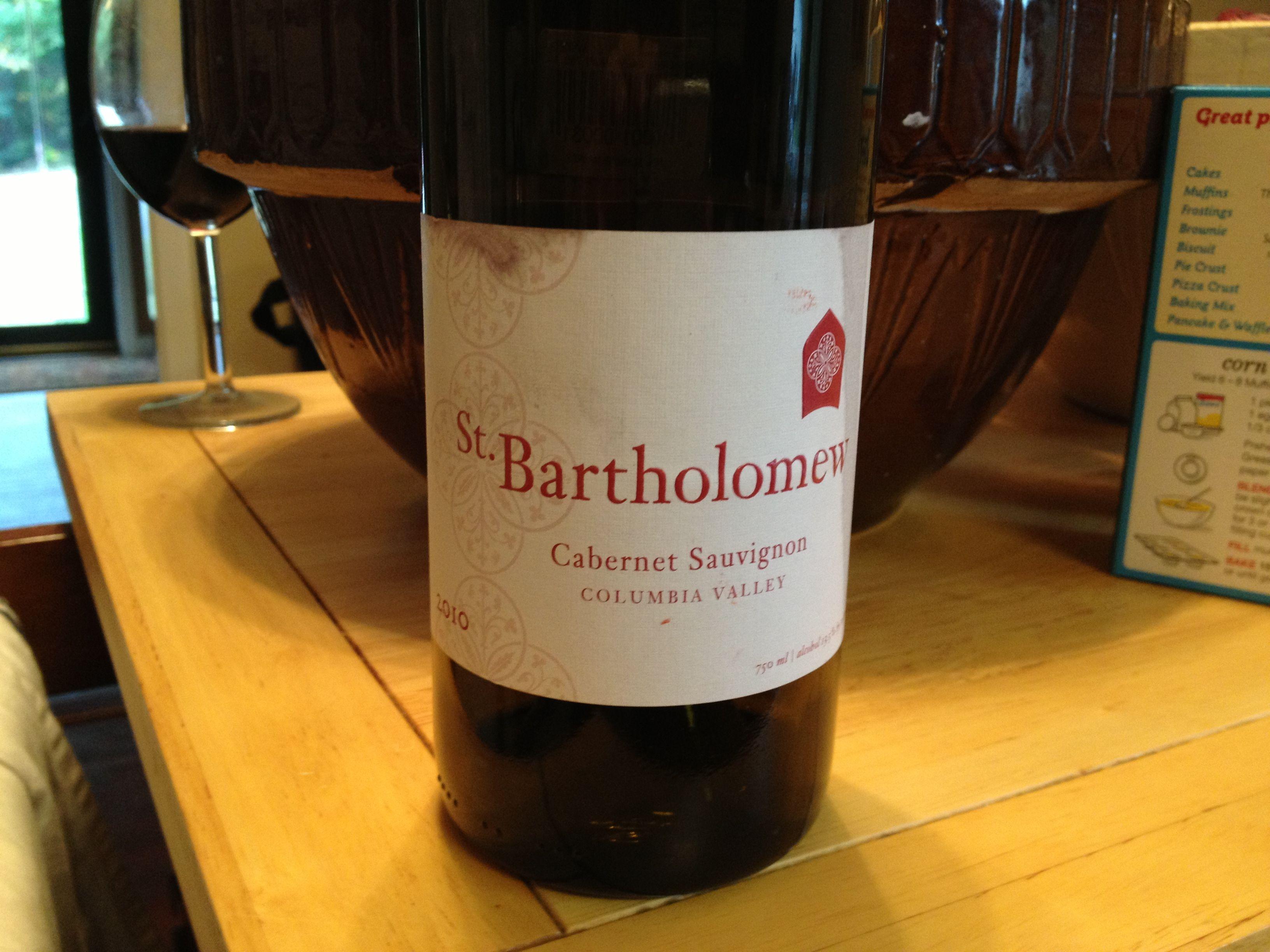 Lovely, lovely wine.