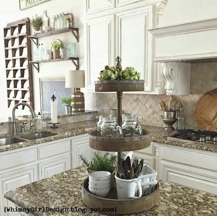 Shabby Chic Kitchen Decor Decorating Stuff Pinterest And