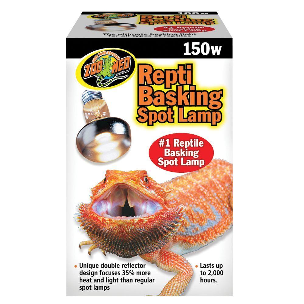 Zoo Med Reptile Basking Spot Lamp Size 150w Reptiles Reptile