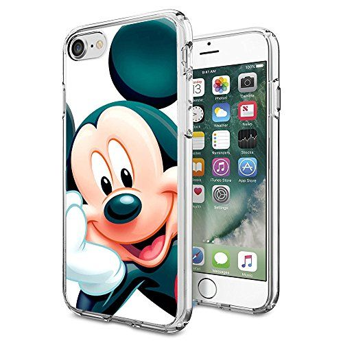 buy online 4d286 9f61f Mickey Mouse iPhone 7 Case, Onelee [Never fade] Disney Mi...   phone ...