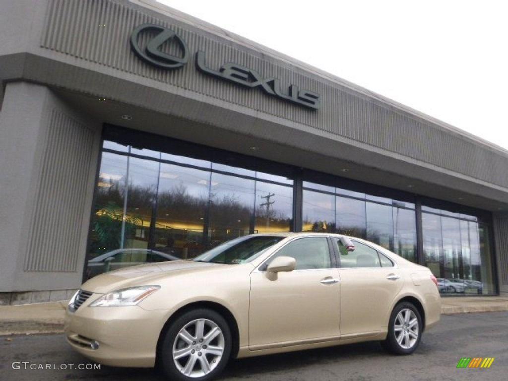 2007 Es 350 Golden Almond Metallic Cashmere Photo 1 Lexus Lexus Es Car Colors