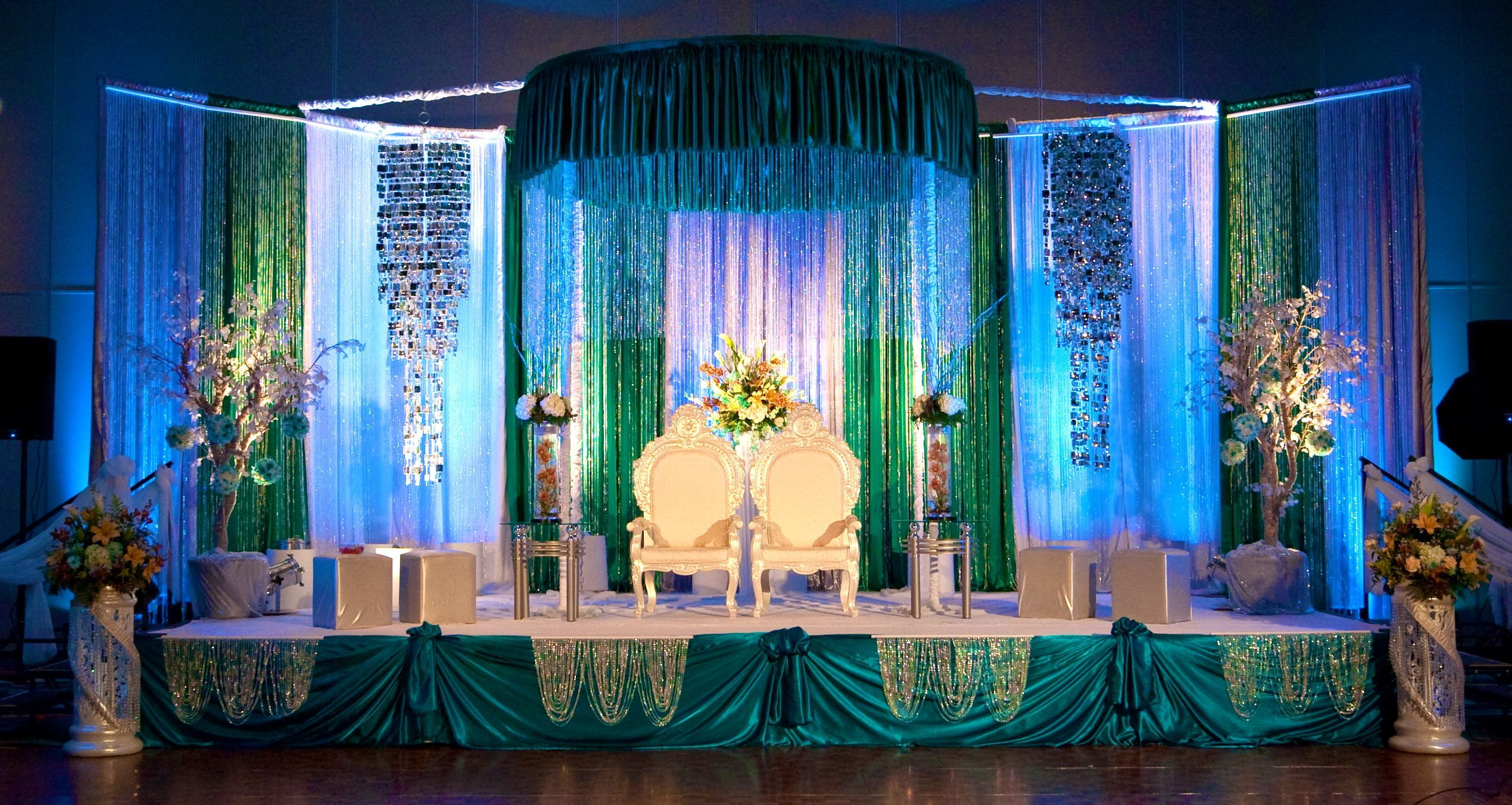 Reception stage decorations Decorations Pinterest Stage decorations Backdrops and