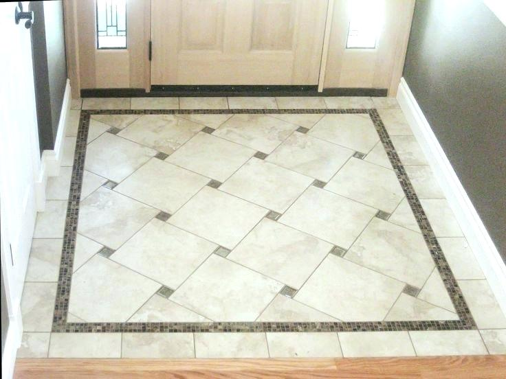 Diamond Pattern Floor In The Same Floor As 12x24 Tiles Google Search Bathroom Floor Tile Patterns Flooring Tile Floor