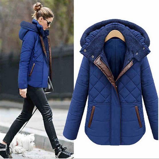 3fd9bf1610cc Casacos tamanho grande mulheres mm de gordura inverno foi fina acolchoado jaqueta  casaco quintal grande ,