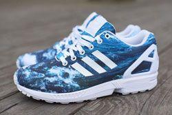 ADIDAS ZX FLUX (OCEAN WAVES) - Sneaker