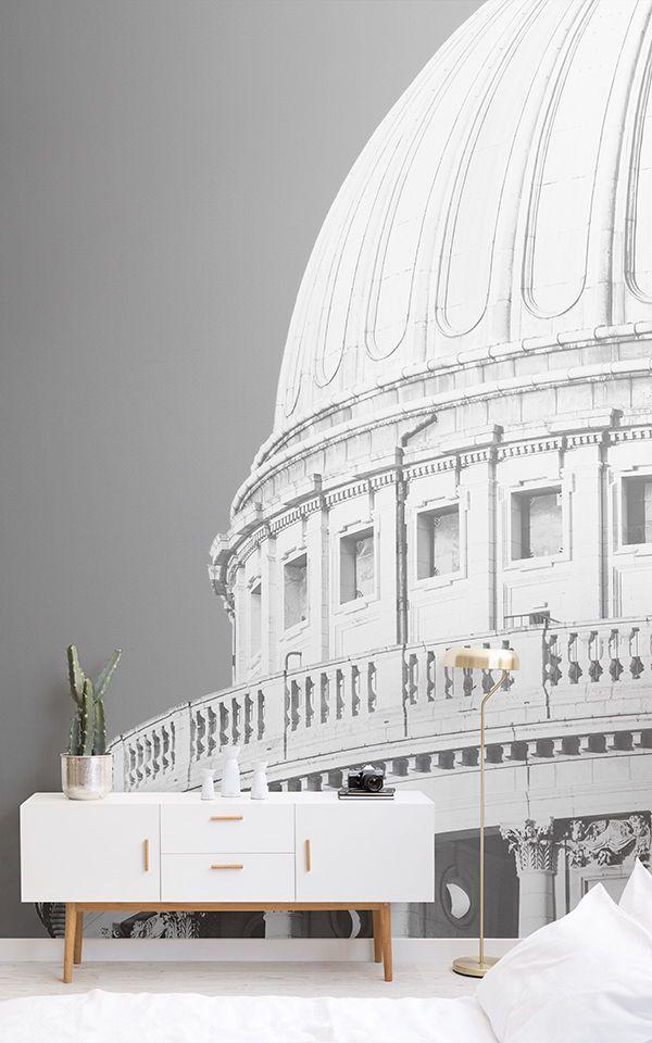 Detaillierte StPaul´s Cathedral Fototapete Tapeten Wandbilder by