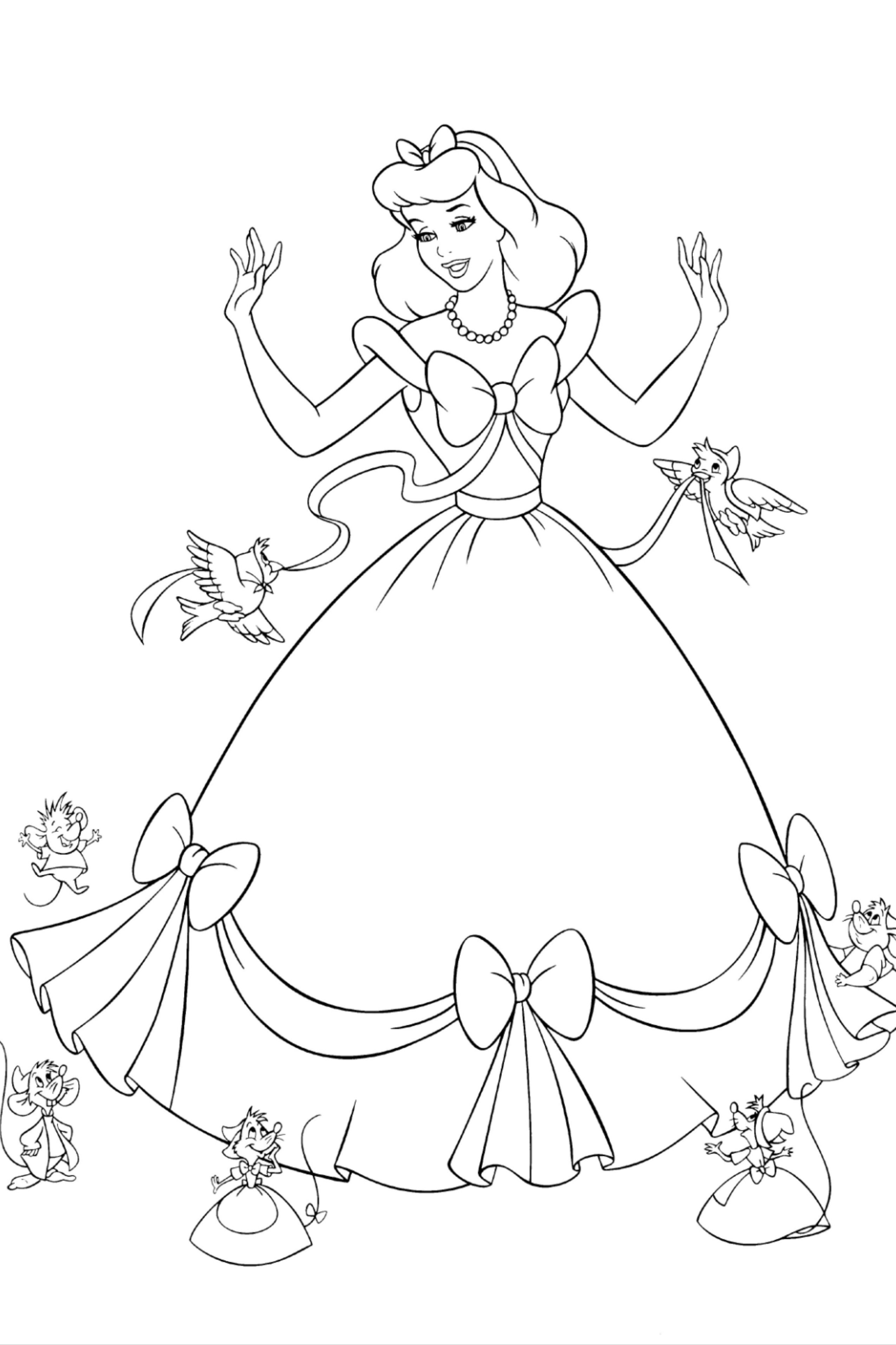 Pin On 200 Princess Coloring Pages For Kids
