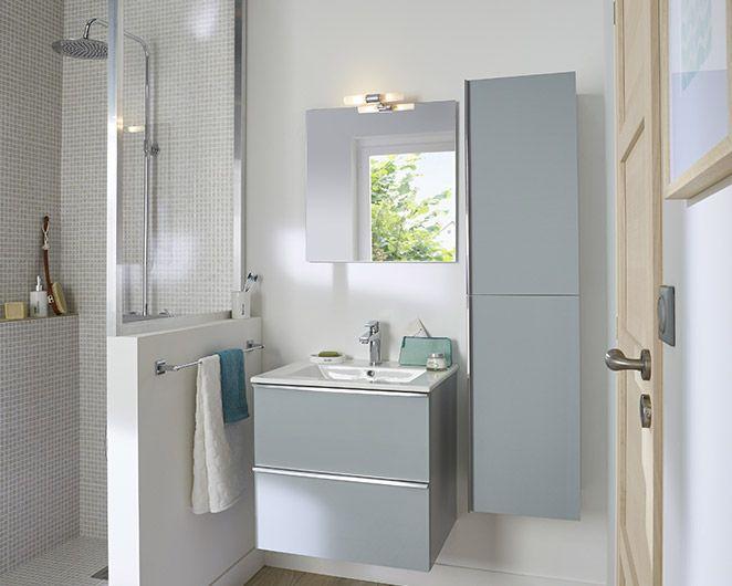 Castorama  Meuble de salle de bains Ohla Le meuble Ohla Kitchen - decoration salle de bain moderne