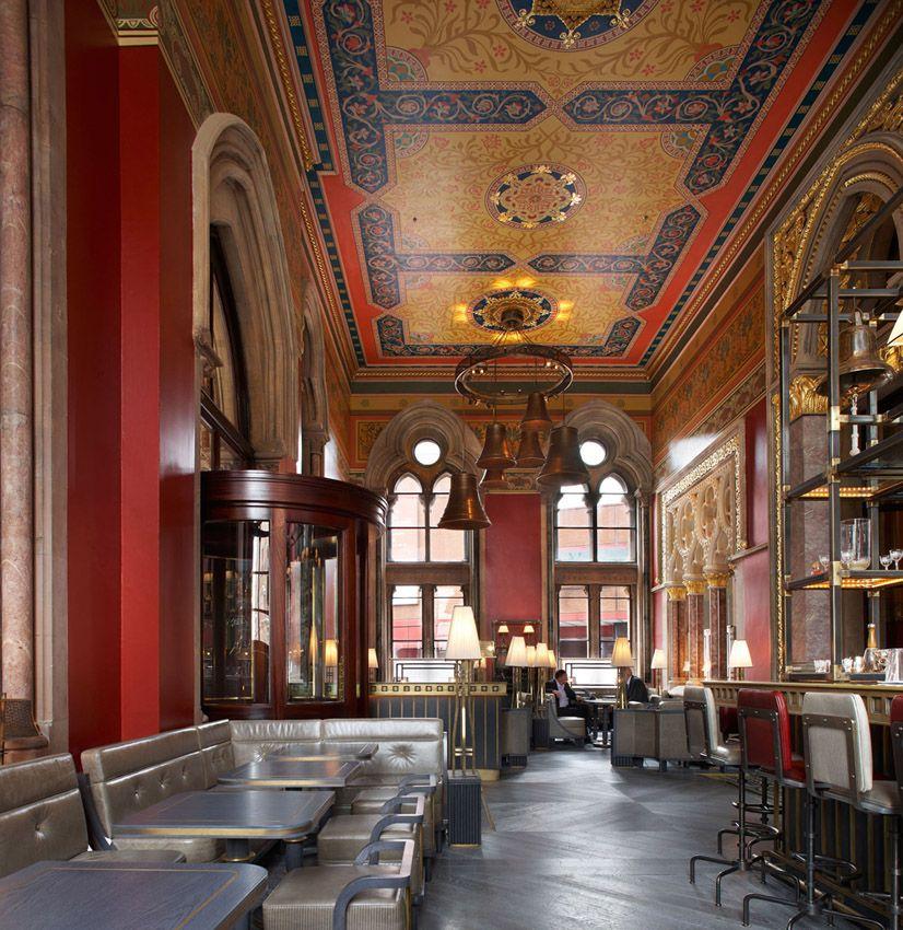 Gilbert scott bar st pancras grand hotel london
