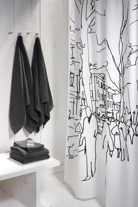 Love Artsy Shower Curtains