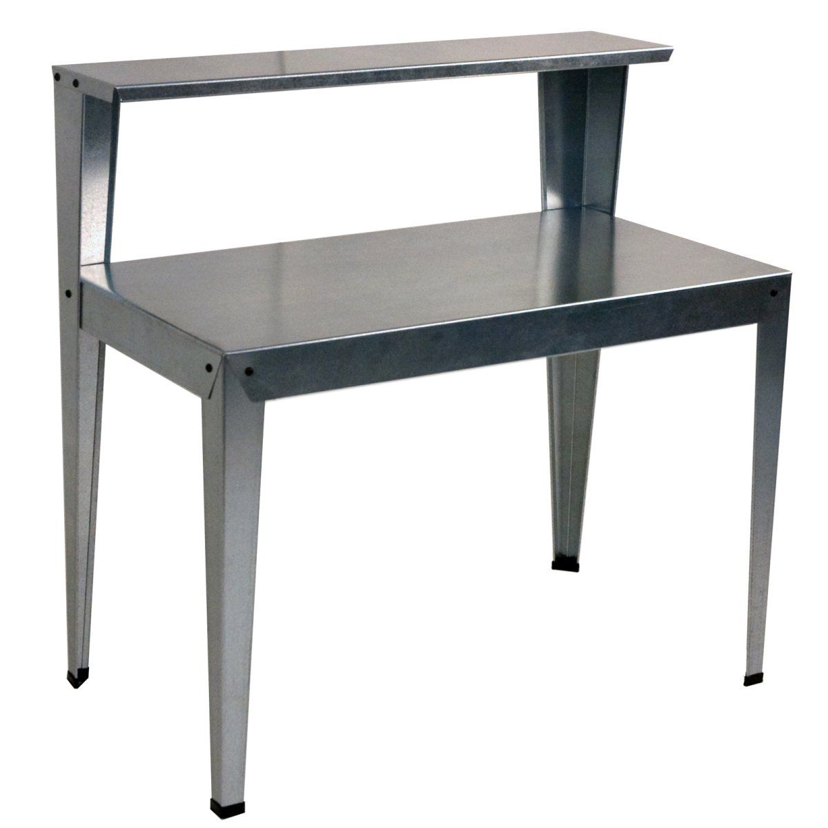 H D x 31.50 in 2-Bench W x 19.75 in Dimension: 45 in Palram Greenhouse Galvanized Steel Potting Bench