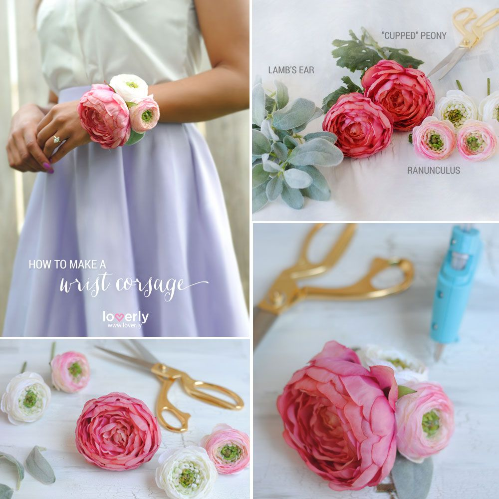 Diy Corsage Boutineer Pinterest Corsage Wrist Corsage And Wedding