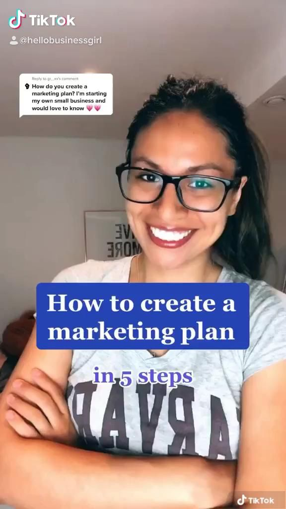 How To Create A Marketing Plan Video Small Business Marketing Small Business Inspiration Best Small Business Ideas