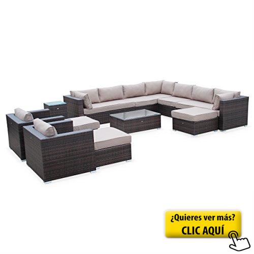 Alice\'s Garden - Conjunto de jardin ratan... #sofa   Muebles de ...