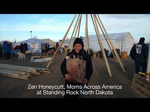 #StandingRock: What is really happing there from @ZenHoneycutt from Moms Across America who describes high tech attacks where everyones batteries go dead, communications blocked so cell phones/internet don't work. War designed weapon used with sound that makes you throw up, police shooting bullets and laughing, human walls protecting a fire as sprayed w/fire hoses for hours at night. Fire still burning. This oil will go to China to make cheap plastic.