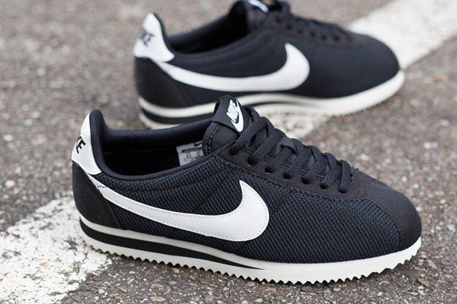 new arrivals 139ab bcaf1 Nike wmns Classic Cortez Nylon  Black White