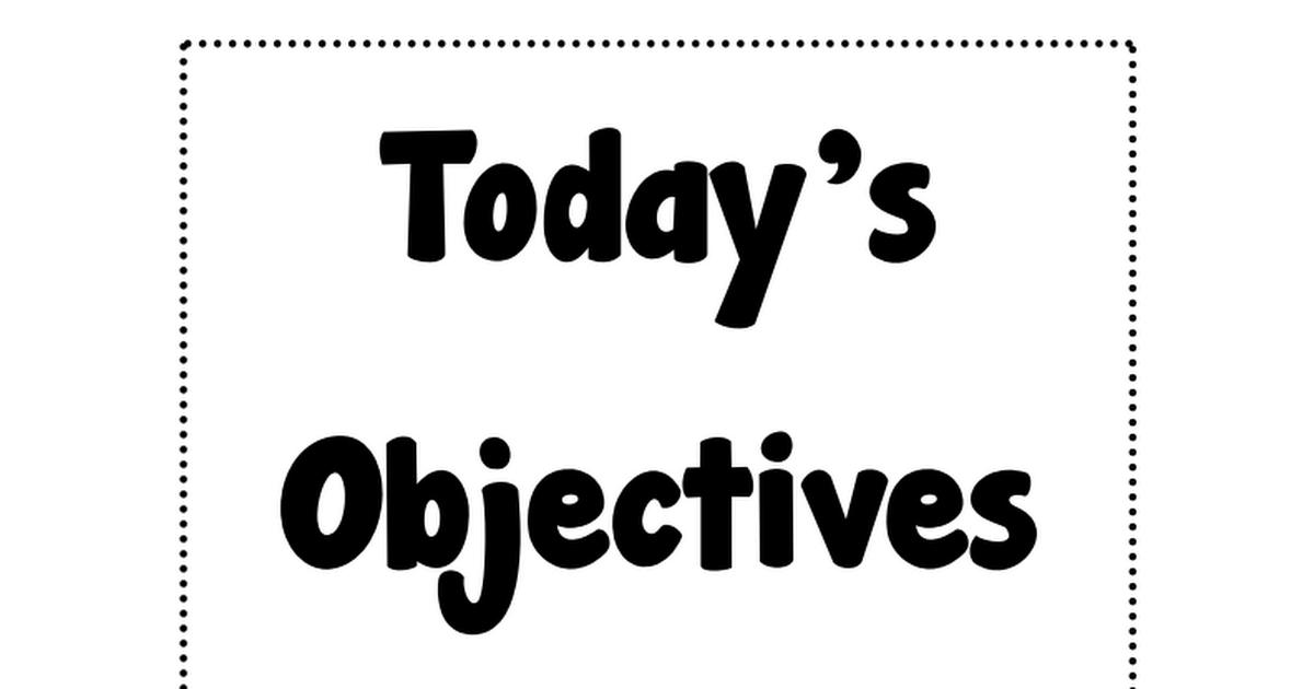 ObjectiveFramesHorizontal.pdf Teacher evaluation, 3rd