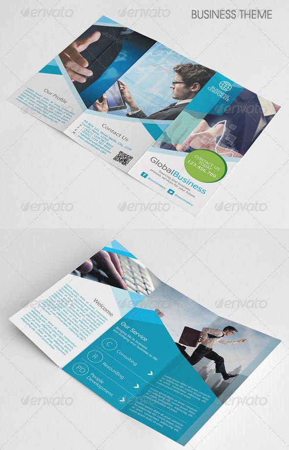 Free  Premium Business Brochure Psd Designs  Brochures