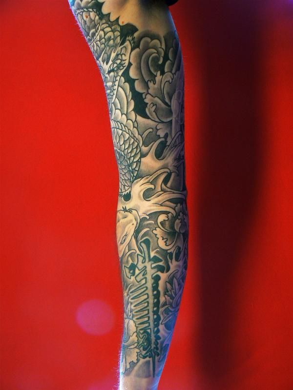 Right arm tattoo 1 by on for Tattoos on right arm