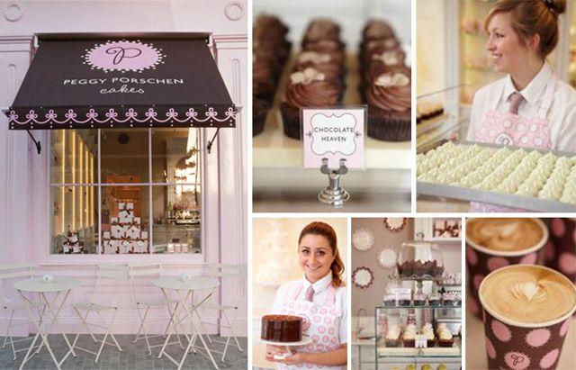 Champagne Laurent-Perrier and Peggy Porschen, London's prettiest cupcake café, the ultimate cream tea