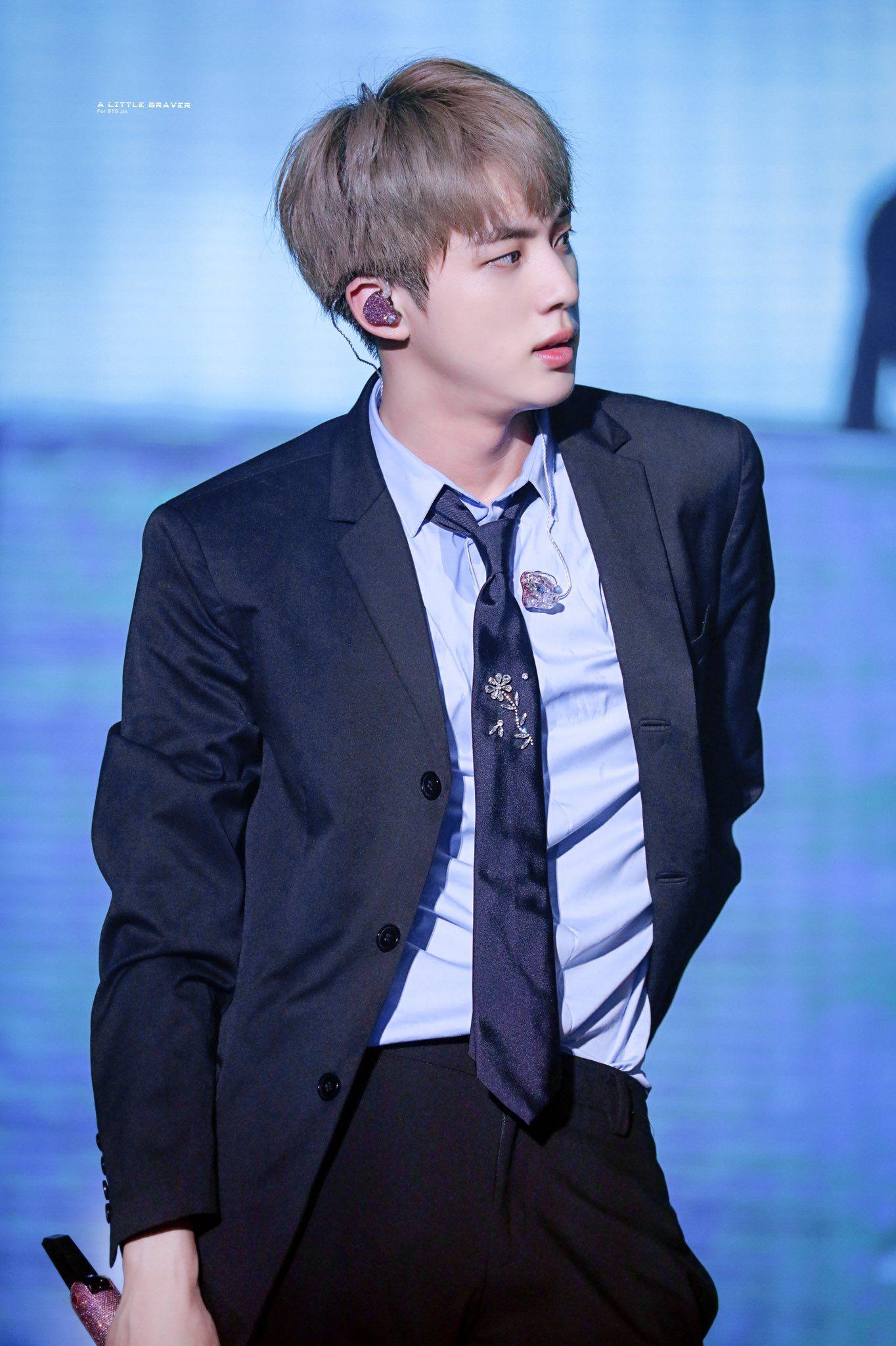 A LITTLE BRAVER 🐬 on in 2020 Worldwide handsome, Seokjin