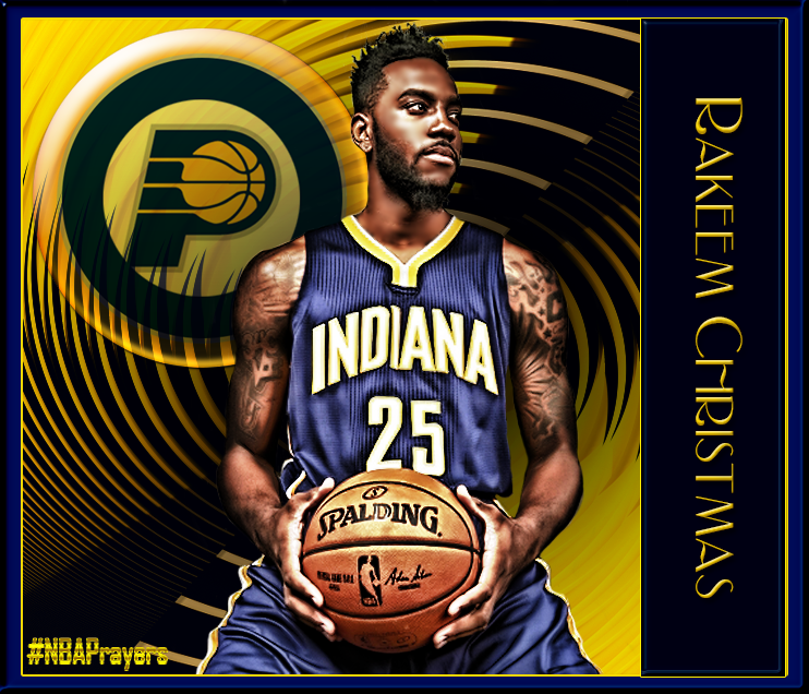 NBA Player Edit - Rakeem Christmas | Pacers - NBA Players ...