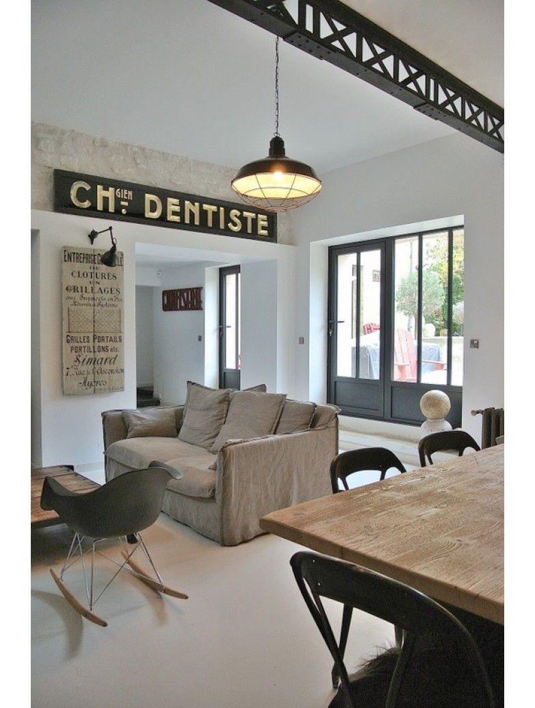 poutre effet m tallique rivet e en bois art. Black Bedroom Furniture Sets. Home Design Ideas