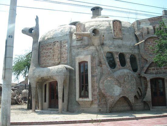 Strange House Unique House Design Crazy Houses Unique Buildings